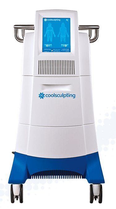 Coolsculpting machine used to remove fat non surgically by freezing