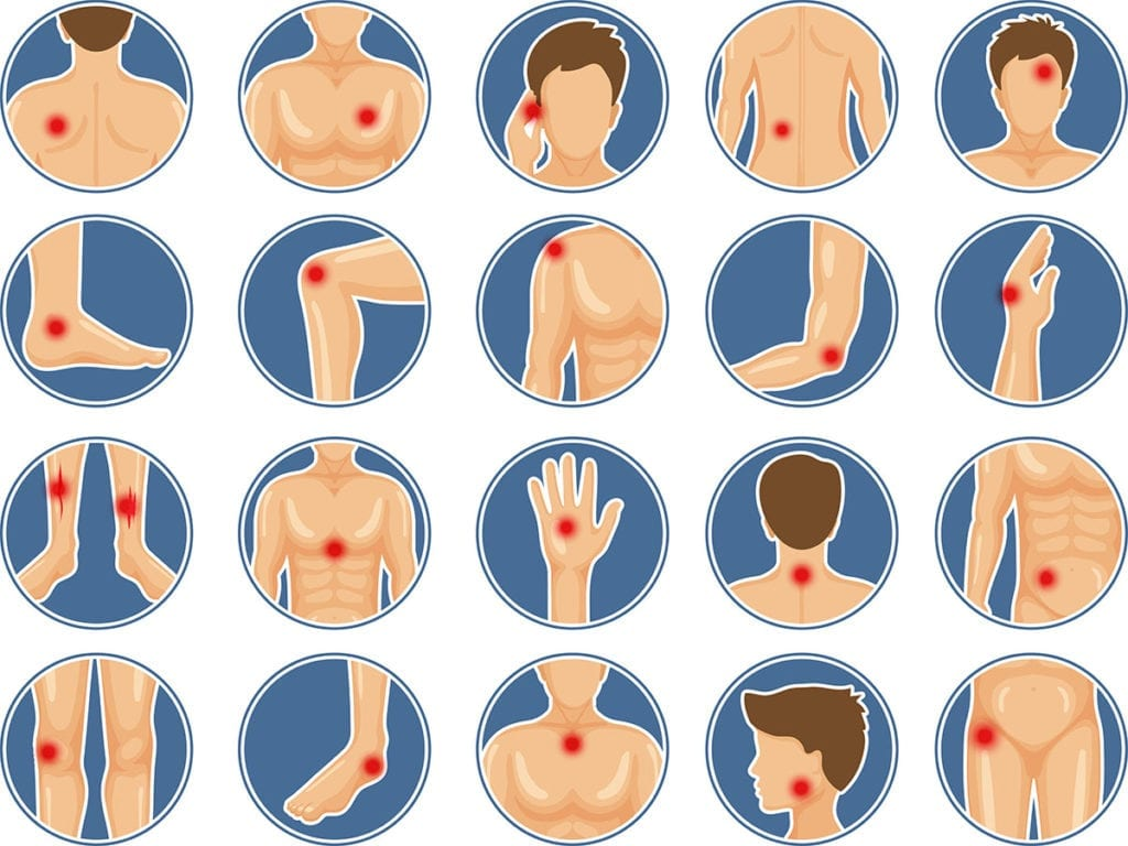 Scars from stitches can heal differently on different body areas
